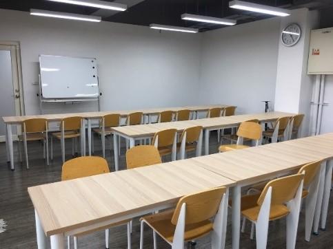 三重五常分館改造後多功能教室照片