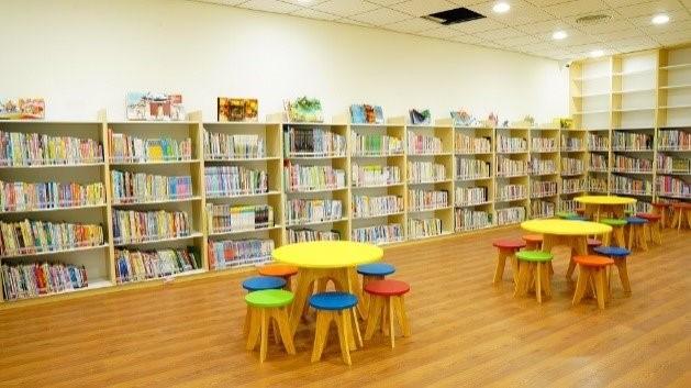 瑞芳分館2樓兒童閱覽室照片