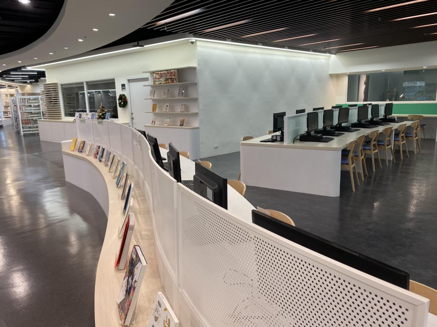 109年新店分館館內空間照片