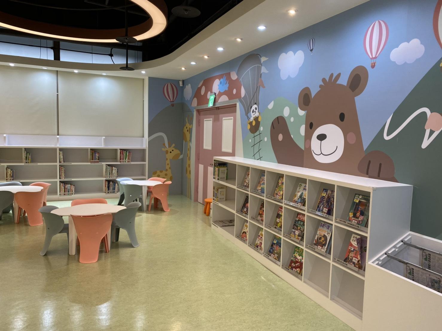 109年新店分館親子閱覽室照片