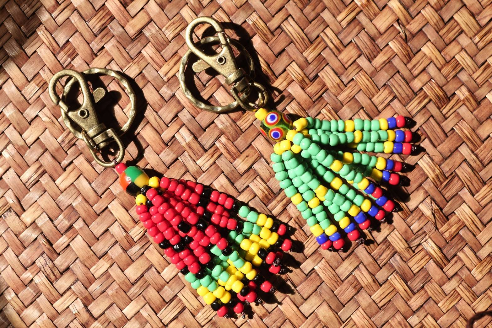 原住民小米串鑰匙圈