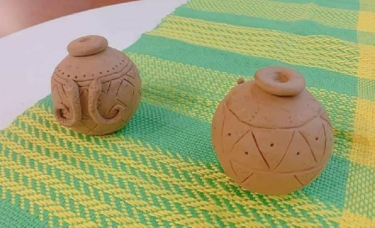 原住民陶壺創作